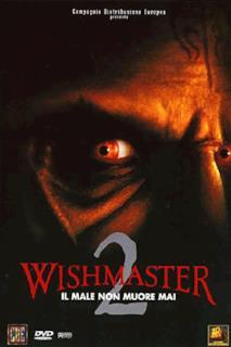 Poster Wishmaster 2 - Il male non muore mai