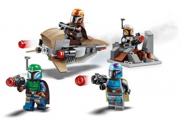 Set LEGO Battle pack The Mandalorian