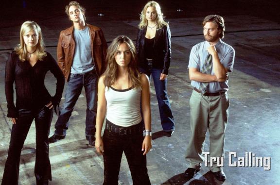 Il cast della prima stagione di Tru Calling