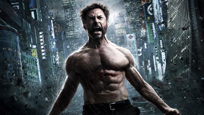 Hugh Jackman in un poster di Wolverine - L'immortale