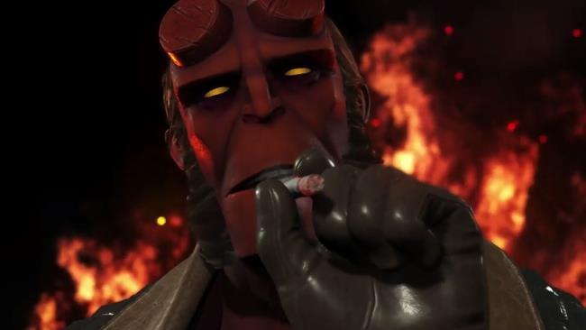 Hellboy in Injustice 2