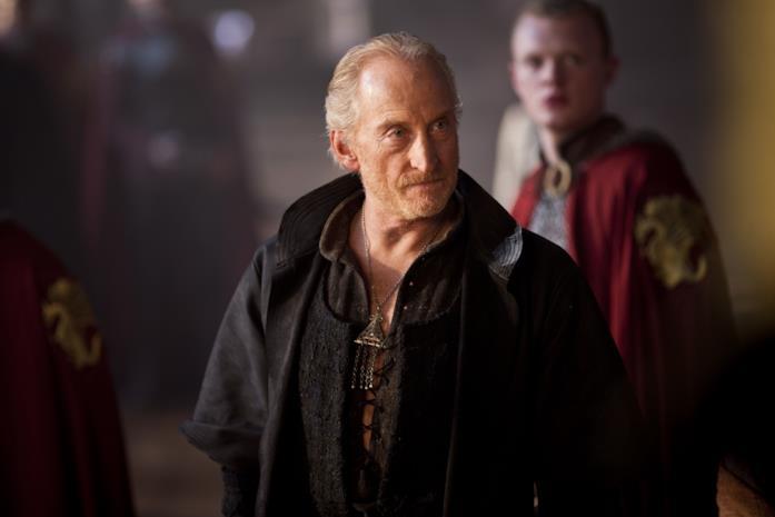 Primo piano di Charles Dance in Merlin