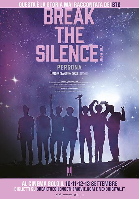 Break The Silence: The Movie - poster del film
