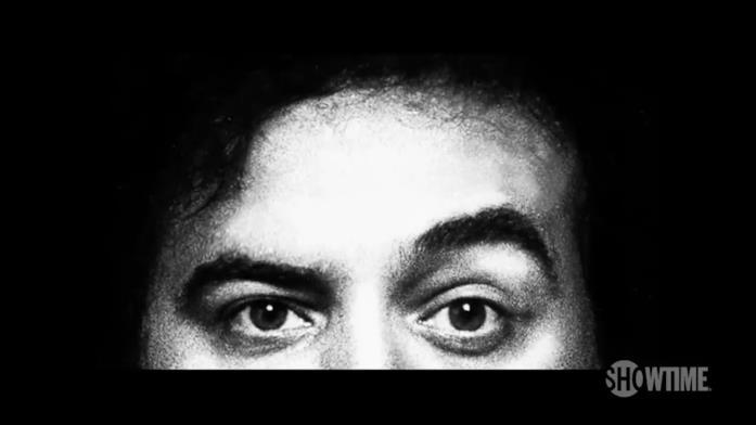 Gli occhi del comico John Belushi