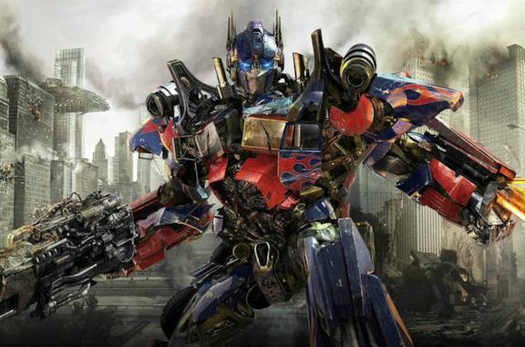 Un'immagine di Optimus Prime