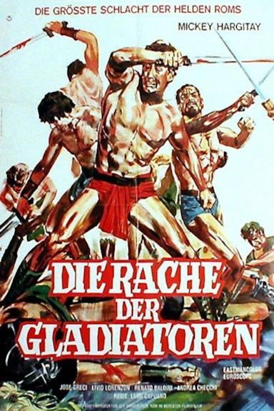 Poster La vendetta dei gladiatori