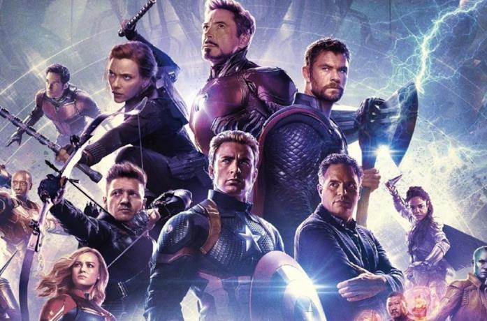 Il cast degli Avengers