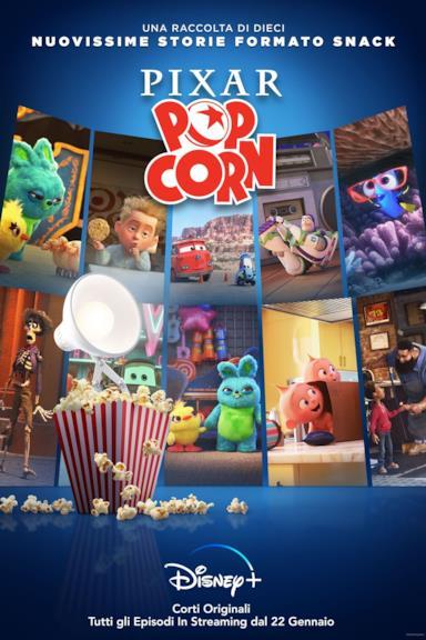Poster Pixar Popcorn