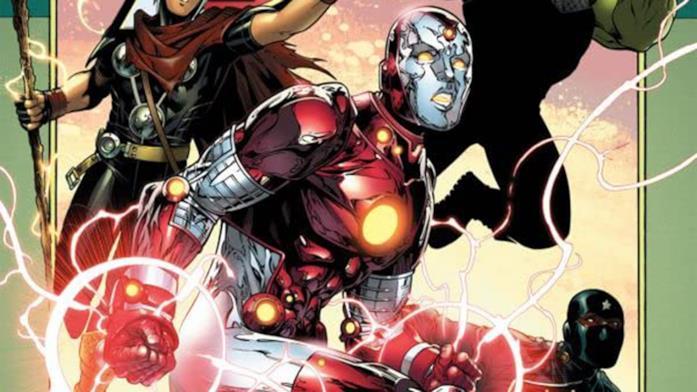 Dettaglio della cover di Young Avengers #3
