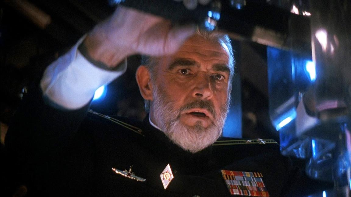 Sean Connery in una scena del film