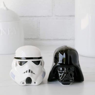 Funko SW00696 Star Wars Set Sale e Pepe, Ceramica, Nero, 14 x 9.5 x 13.3 cm, 2 unità