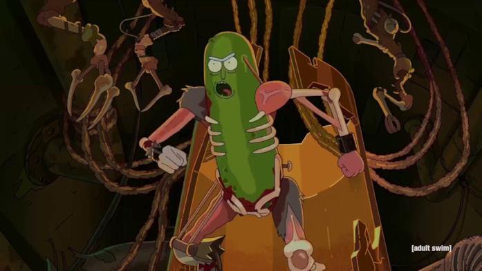 Rick and Morty, una scena tratta dalla terza stagione