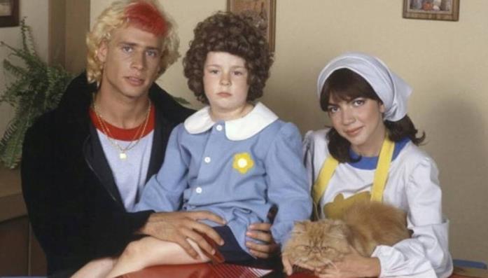 Una scena di Licia dolce Licia con Mirko, Andrea e Licia