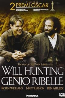 Poster Will Hunting - Genio ribelle