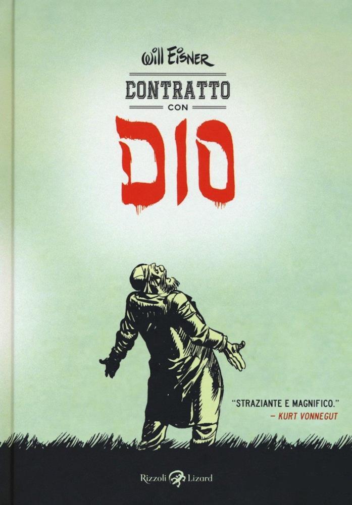 La cover della graphic novel di Will Eisner