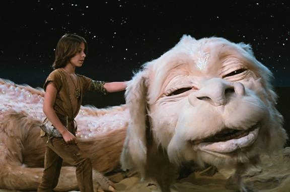 Atreyu e Fùcur nel film La Storia Infinita