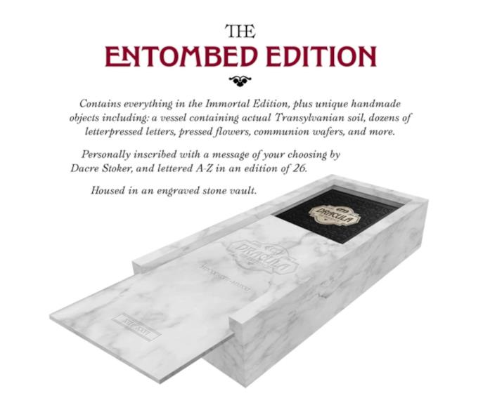 The entombed edition Dracula