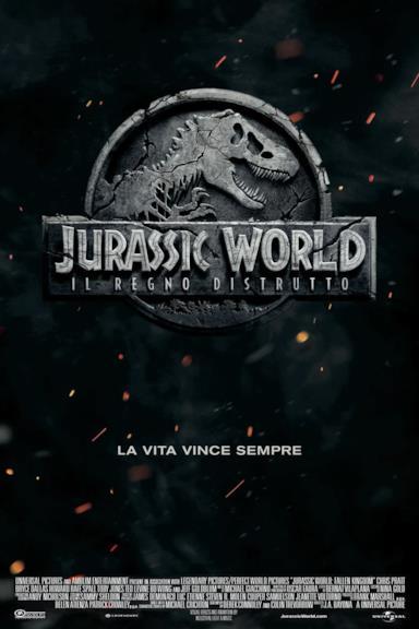 Poster Jurassic World – Il regno distrutto