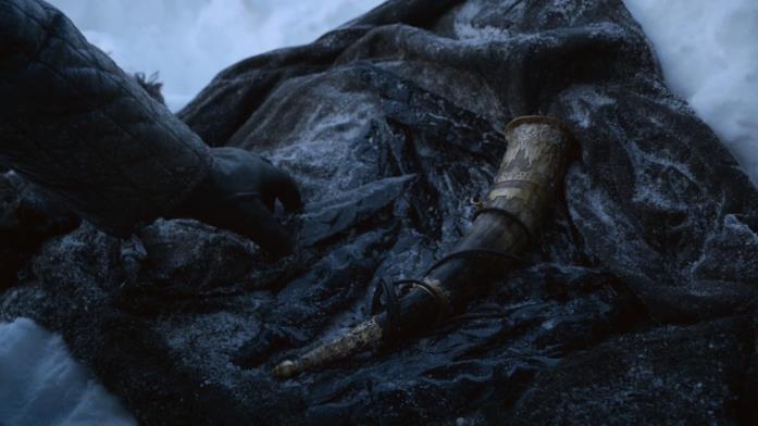 Un'immagine del Dragonglass da Game of Thrones