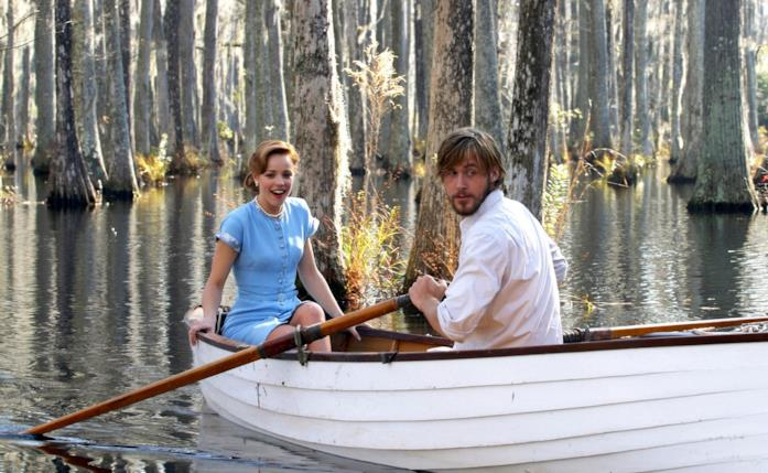La scena del giro in barca ne Le pagine della nostra vita