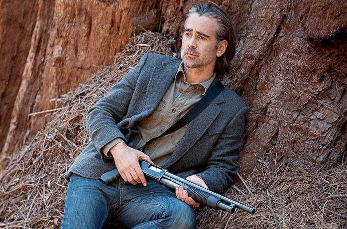 Un'immagine di Colin Farrell in True Detective 2