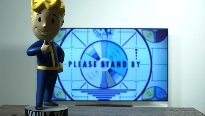 Un'immagine dallo streaming misterioso a tema Fallout