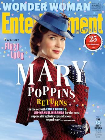 Emily Blunt è la nuova Mary Poppins nell'atteso sequel del film di Rob Marshall