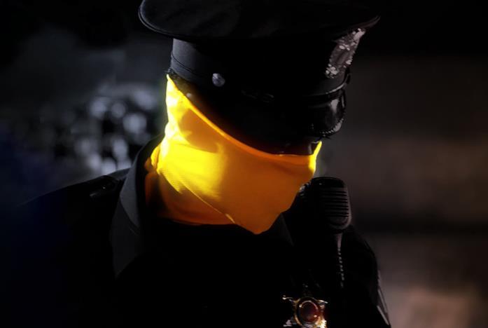 Uno dei poliziotti di Watchmen