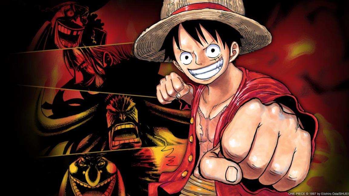 One Piece Rufy e gli Yonkou