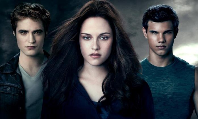 Una scena con i protagonisti di Twilight