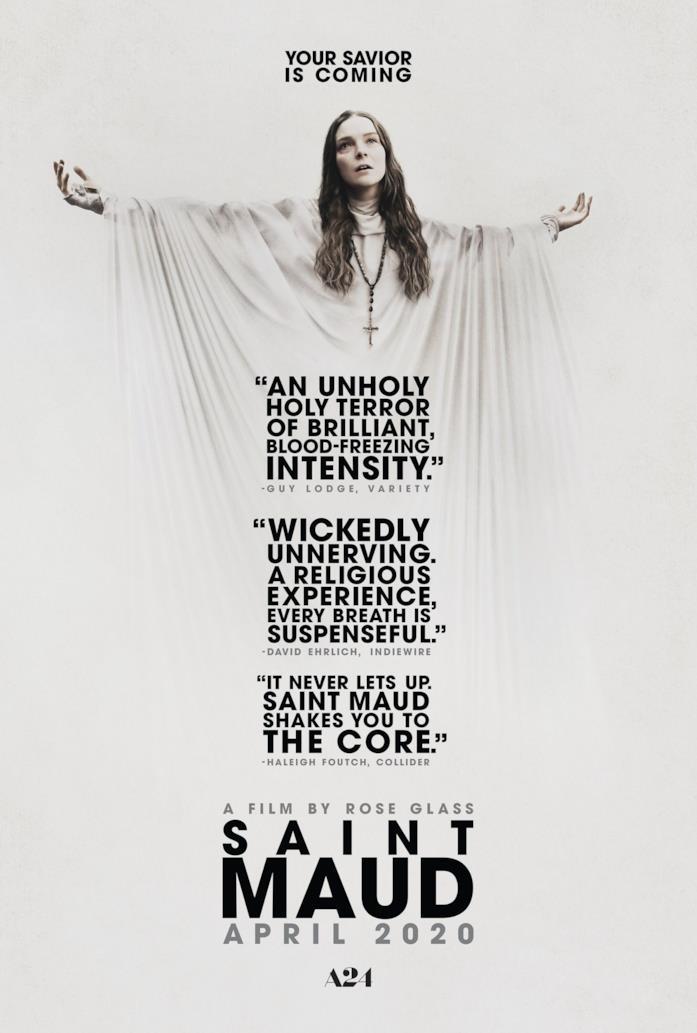 Il poster del film Saint Maud