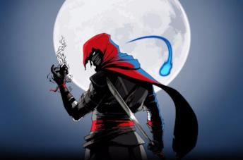L'assassino protagonista di Aragami: Shadow Edition