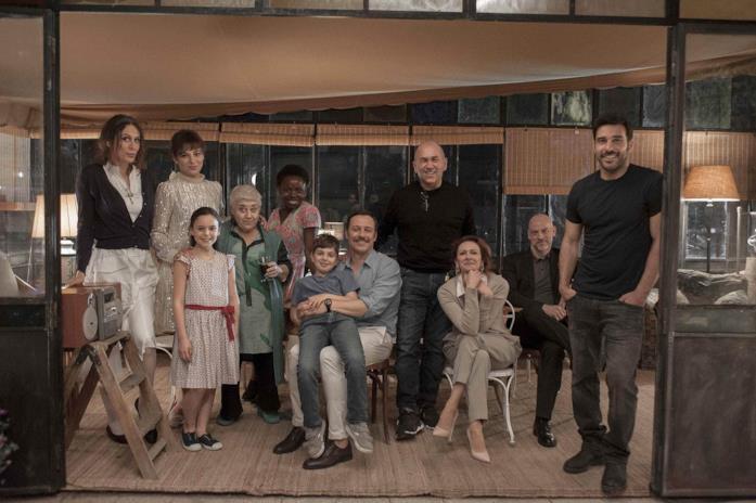 Il cast di La dea fortuna