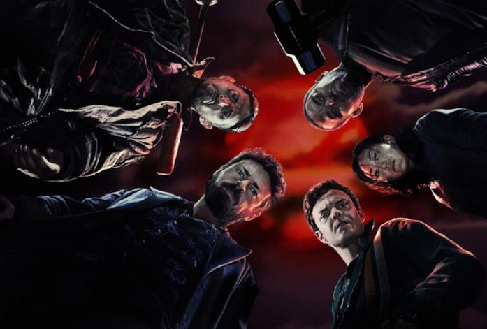 I protagonisti di The Boys nel poster della prima stagione
