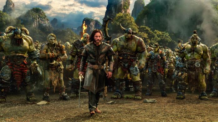 Anduin Lothar in una scena di Warcraft: L'inizio