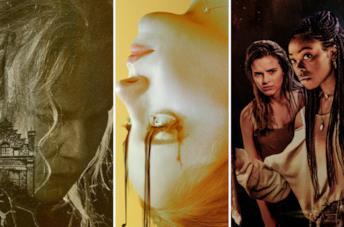I poster di The Manor, Notturno e Black as Night