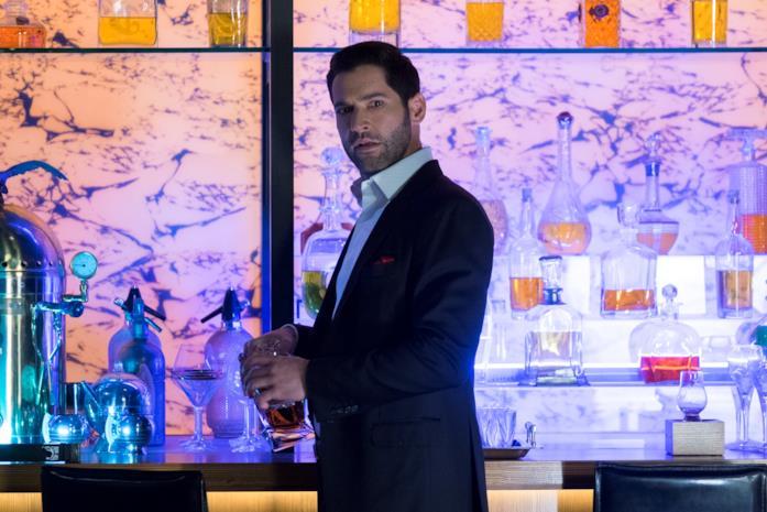 Lucifer al bar