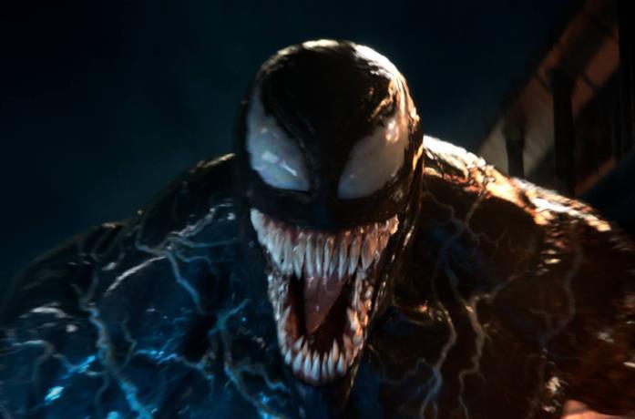 Venom nell'omonimo film Sony Pictures Entertainment