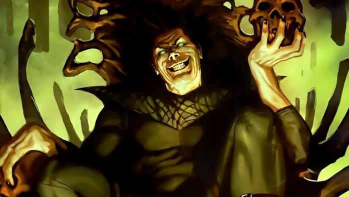 Un'immagine di Incubo tratta dalle pagine dei fumetti Marvel