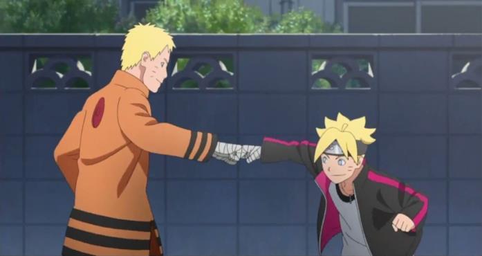 Boruto: Naruto the Movie padre e figli