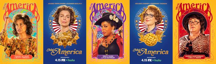 Le attiviste protagoniste di Mrs. America