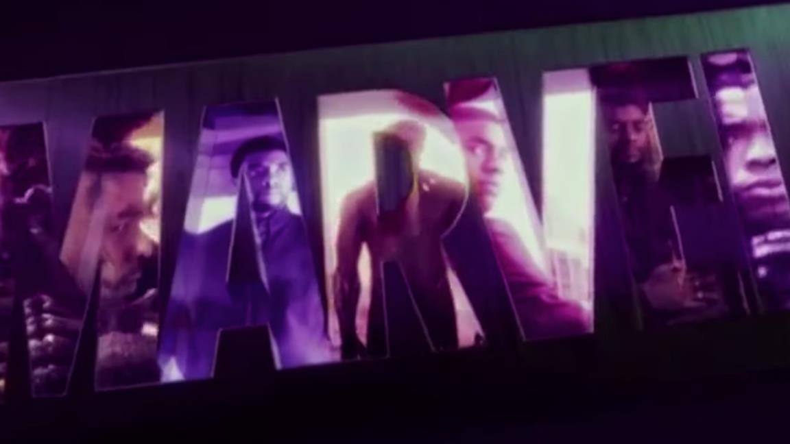 Un'immagine di Boseman in Black Panther