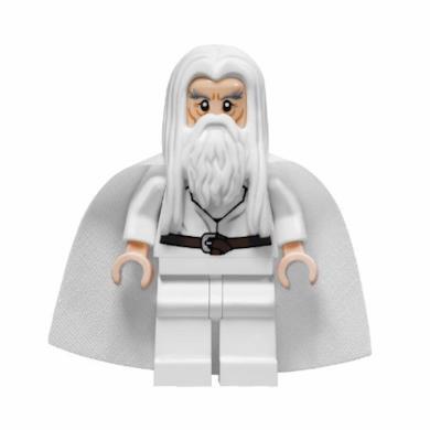 Il Signore Degli Anelli: Gandalf Il Bianco Minifigura