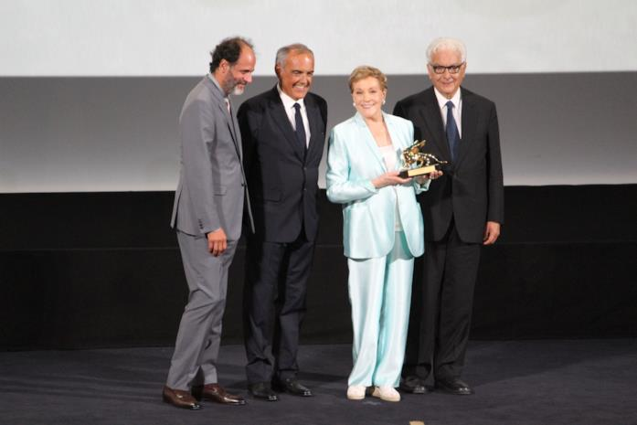 Julie Andrews riceve il Leone alla carriera
