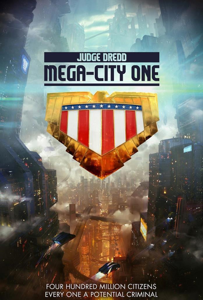Poster di Judge Dredd