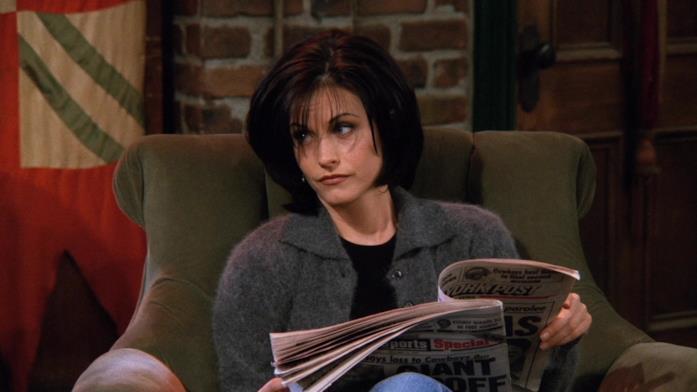 Courteney Cox  in una scena di Friends