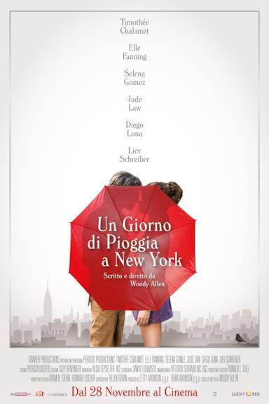Poster Un giorno di pioggia a New York