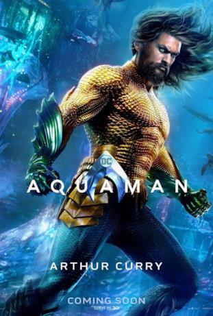Jason Momoa è Aquaman nel film di James Wan