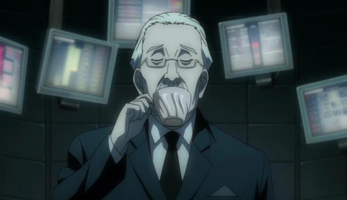 Watari, uno dei personaggi di Death Note
