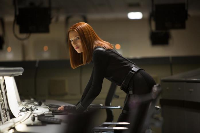 Vedova Nera in Captain America: The Winter Soldier